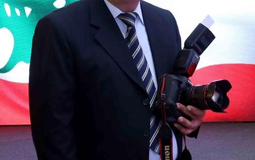 نقابة المصورين الصحافيين نعت كميل صنصيل