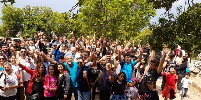 امشي من اجل الشباب في أحضان الطبيعة في عبرين البترونية
