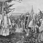 أين أقيم أول قداس في البرّ الأميركي؟