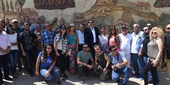 وزارة السياحة واصلت رحلاتها للاعلاميين والجولة الثالثة في البقاع وزحلة