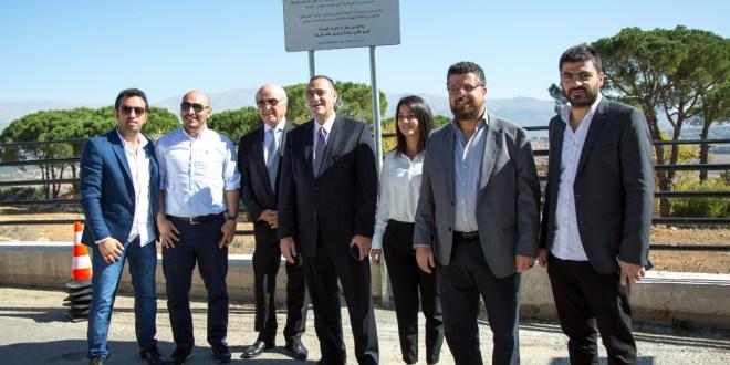 مبادرة عيش لبنان دشنت في جديدة مرجعيون أنشطة حملة حقي أوصل للتوعية على السلامة المرورية