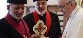 كلمة غبطة البطريرك مار كيوركيس الثالث بطريرك كنيسة المشرق الآشورية إلى قداسة البابا فرنسيس الذي استقبله صباح اليوم