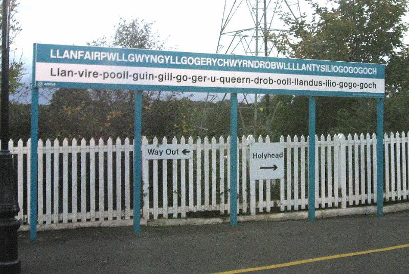 Image result for llanfairpwllgwyngyllgogerychwyrndrobwllllantysiliogogogoch train station