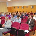 Investigadores de la UCLM durante el encuentro