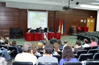 El programa se presentó en el Aula Magna de la Biblioteca del Campus de Ciudad Real y por videoconferencia en el resto de campus