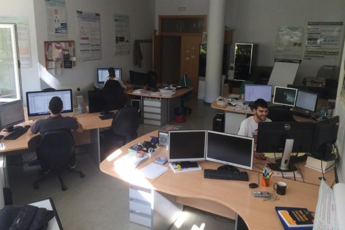 Imagen del laboratorio del grupo de investigación VISILAB