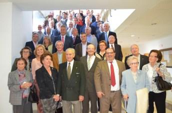 Foto de grupo de antiguos alumnos