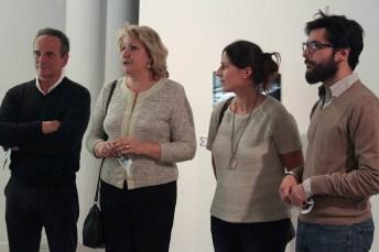 Inauguración de la exposición (Foto: Silvia Bernabé)