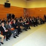 El salón de grados del edificio Benjamín Palencia ha acogido el acto