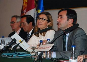 Participantes en la inauguración