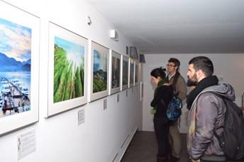 La exposición puede visitarse en la sala Acua