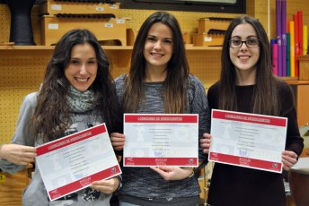 Alumnas premiadas