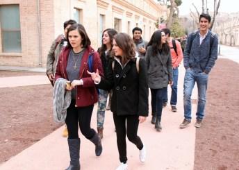 Estudiantes de Monterrey en el Campus de Toledo