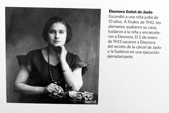 Eleonora Golen escondió a una niña judía en su casa. Ambas fueron fusiladas por los nazis