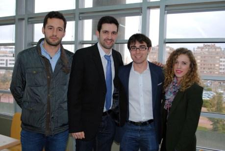 Dominó, equipo ganador en el Campus de Albacete