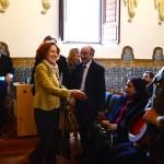 La directora de la RAH saludó al público asistente a su conferencia