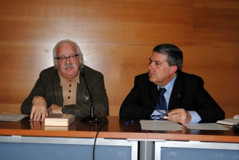 De izqda. a dcha: José Manuel Martínez Cano y Juan Bravo