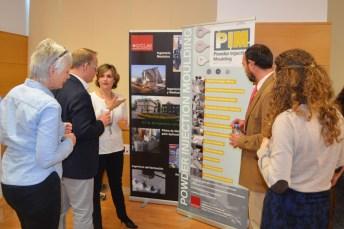 Gemma Herranz, profesora de la Escuela Técnica Superior de Ingenieros Industriales del Campus de Ciudad Real, explica el proyecto