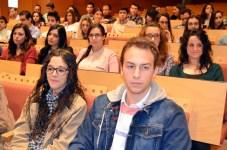 Alumnos asistentes al acto