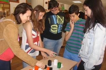 En la jornada participaron alumnos de Estalmat, junto a familiares y profesores de estos