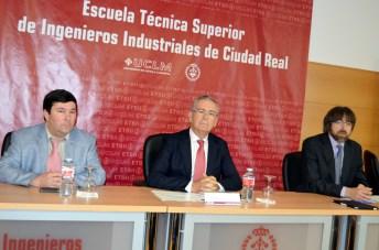 De izqda. a dcha.: Gerardo Marquet, Pedro Carrión y Jorge Parra