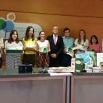 Premiados, profesores y autoridades