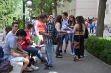 Descanso y repaso entre examen y examen en el Campus de Ciudad Real