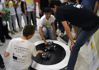 Competición de sumo en la fase local disputada en Toledo