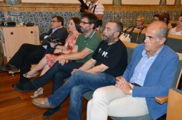 Algunos de los ponentes y participantes
