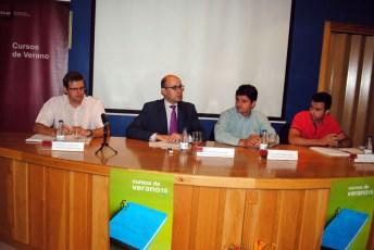 Momento de la inauguración del seminario