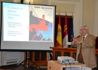 Intervención del catedrático Carlos Alvar