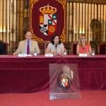 La vicerrectora de Relaciones Internacionales inauguró el curso