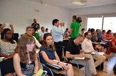 Varios de los participantes en el curso de postgrado