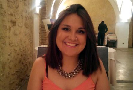 La alumna de la Escuela Superior de Informática Sheila Bustos