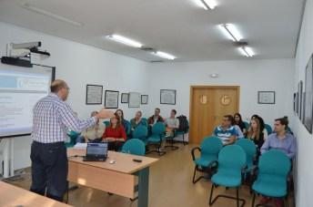 Los lectores, durante el curso de formación