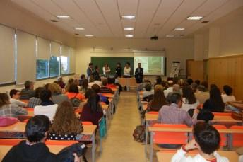 La Facultad de Educación fue la sede elegida para la presentación de la obra