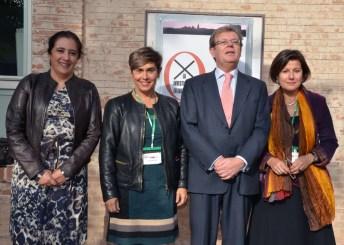 Fátima Guadamillas, Pilar Tazón, Miguel Ángel Collado e Isabel del Puerto