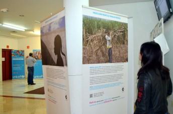 La exposición está integrada por 15 paneles fotográficos