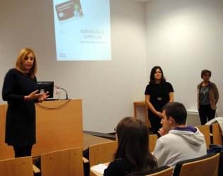 De izqda. a dcha: Ángela González, Llanos López y Ana García