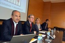 Juan Ramón de Páramo, Miguel Ángel Collado, Alicia Gómez y Javier Espinosa