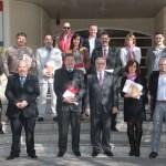 Imagen de grupo de los participantes en el foro empresas. Fotos: Javier Torres