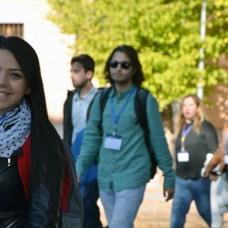 Participan casi 400 universitarios de 40 países