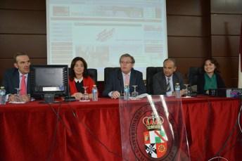 Tomás Vidal, Pilar Zamora, Miguel Ángel Collado, Juan Ramón de Páramo y María Martín