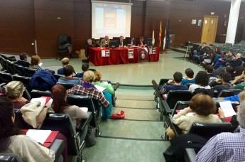 El Congreso se celebra en el Aula Magna de la Biblioteca General de Ciudad Real