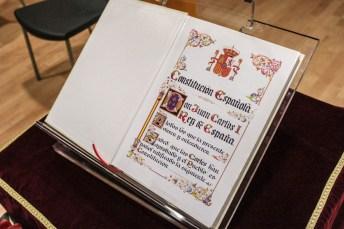La UCLM conmemora el XXXVII aniversario de la Constitución