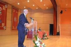 Ernesto Martínez durante su discurso