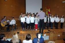 Participación del Coro de niños del colegio Príncipe Felipe