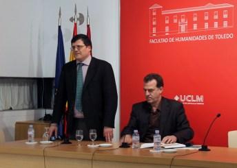 El profesor Crosas y Gabriel Insausti Herrero-Velarde