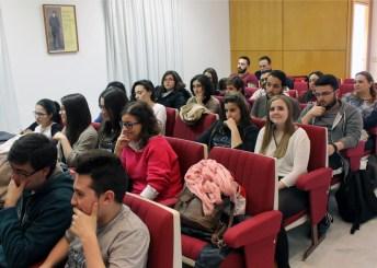 Asistentes a la sesión inaugural del seminario