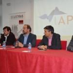 De izqda. a dcha.: Jorge Onrubia, Matías Barchino, Julián Garde, Santiago Castellano y Francisco Navarro